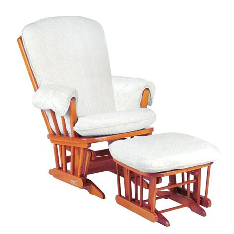 glider ottoman cushions replacement rocking chair glider cushions white textured replacement