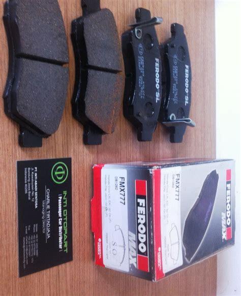 Brake Pad For Jazz New City jual harga brake pad kas rem depan ferodo max jazz gd3 new city 2nd pinassotte