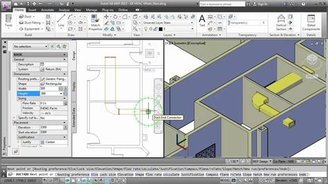tutorial autocad mep new features in autocad mep 2013 youtube