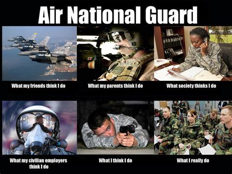 National Guard Memes - image 251233 what people think i do what i really