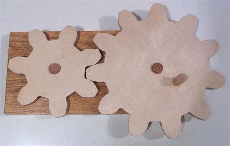 making wooden gears out of plywood