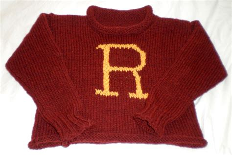 how to knit a weasley sweater yoelknits fo harry potter sweater