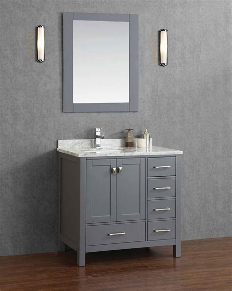 Best Place For Bathroom Vanities Keywest 36 Quot Bathroom Vanity Gray Royal Bath Place