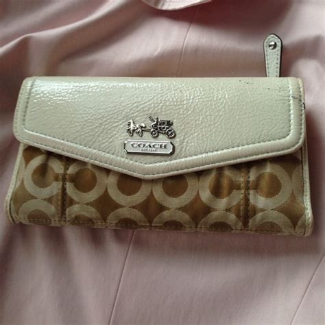 Coach Wallet 3 Fold Authentic 1 coach authentic coach wallet from luceli s closet on poshmark