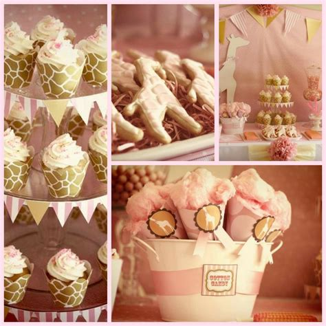 Pink Giraffe Baby Shower Decorations by Pink Giraffe Baby Shower Ideas Baby Shower Ideas Themes