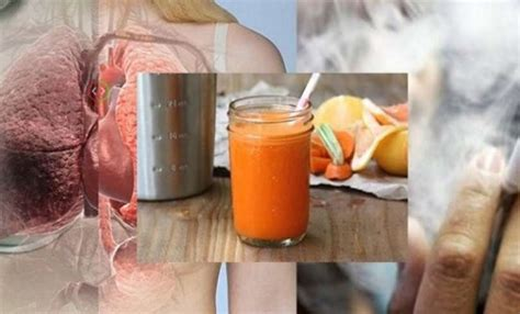 Detox Drink For Smokers by Cleanse Your Lungs Of Toxins In 3 Days Highly Recommended