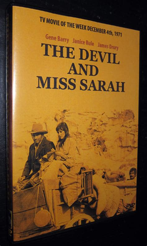the devil and miss devil and miss sarah the tv 1971 dvd modcinema