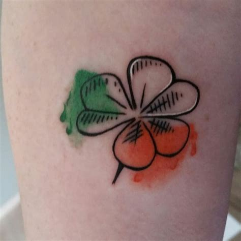 black shamrock tattoo best 25 shamrock tattoos ideas on ireland