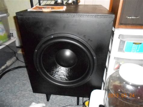 woofer ported  sealed page  home