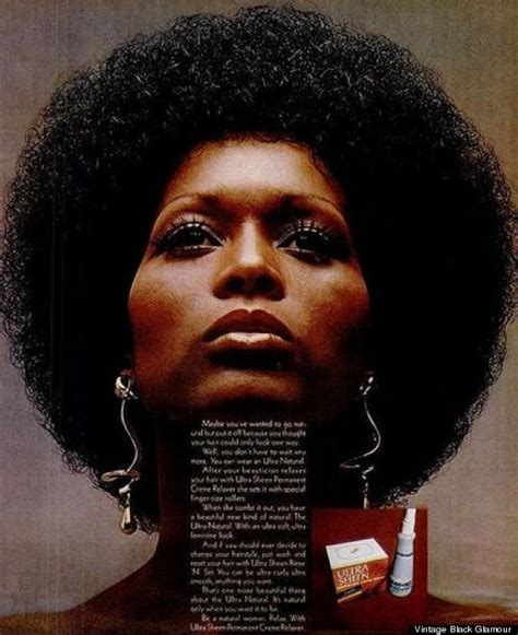 afro hairstyles history we re obsessed with these vintage hair and beauty ads