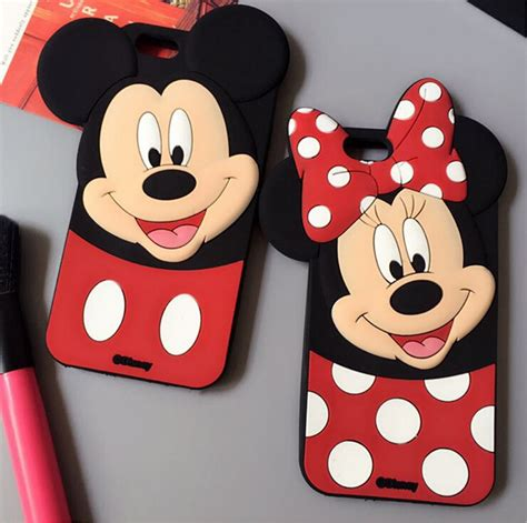 Samsung J5 3d Silicone Mickey Minnie Mouse Cover Casing Bumper popular mickey mouse phone cover buy cheap mickey mouse