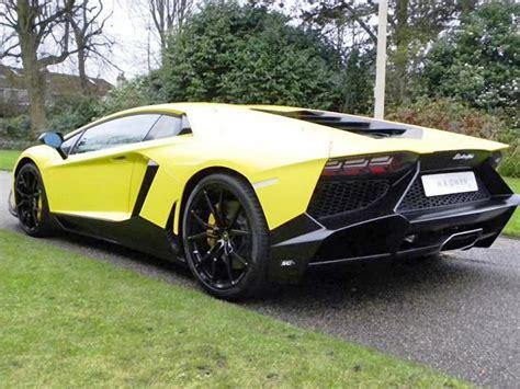 Lamborghini Aventador For Sale Cheap 50th Anniv Lamborghini Aventador Up For Sale 95 Octane