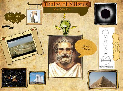 thales  miletus quotes quotesgram