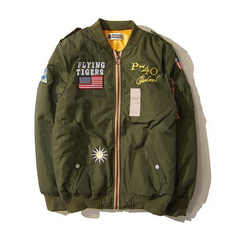 Jaket Bomber Bape Bomber Pria Bomber Swag Jaket Bomber Murah bape bomber jacket 2015 hip hop streetwear manteau homme camouflage winter jacket swag