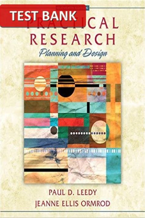 practical research planning and design 11th edition test bank for practical research planning and design 11th