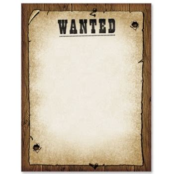 writing a letter for an wanted template 17 best images about western theme on