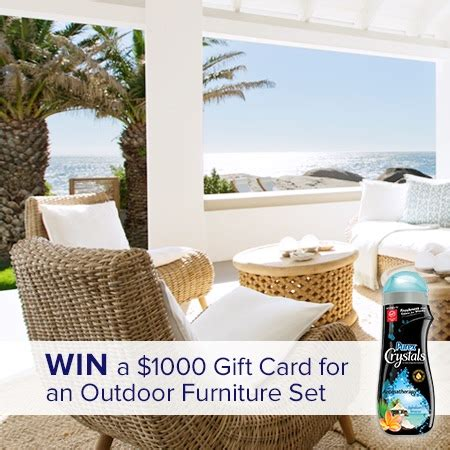 win new outdoor furniture set thrifty momma ramblings