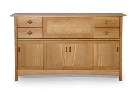 Hand Crafted Quartersawn White Oak Sideboard By J Holtz White Oak Buffet