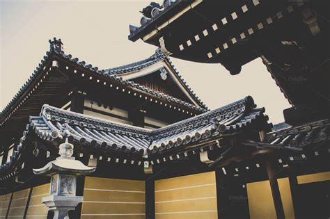 Ancient Japanese Architecture Design Ancient Japanese Architecture Architecture Photos On Creative Market