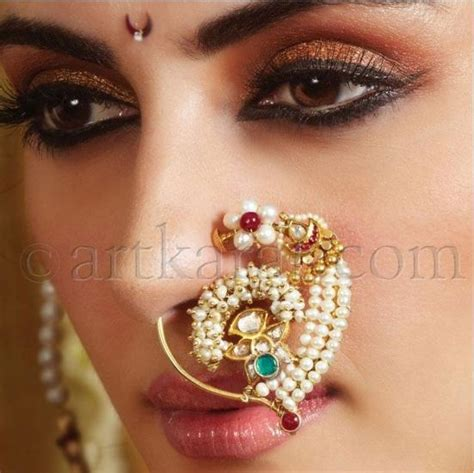 traditional nose piercing bridal nose rings beautiful and traditional nose rings