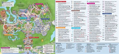 printable magic kingdom map freepsychiclovereadings