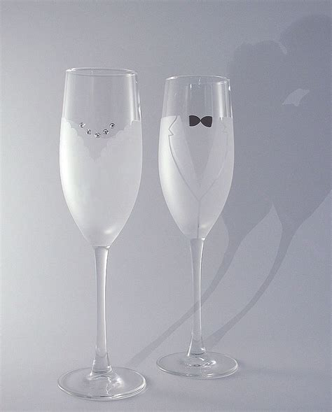 Wedding Glasses by And Groom Wedding Toasting Glasses Wedding