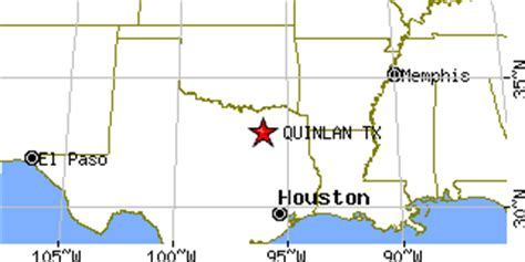 quinlan texas map quinlan texas tx population data races housing economy