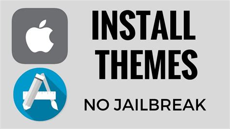 themes for iphone no jailbreak install themes on iphone ios 7 10 no jailbreak youtube