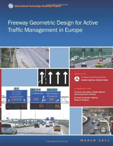 design management master europe freeway geometric design for active traffic management in
