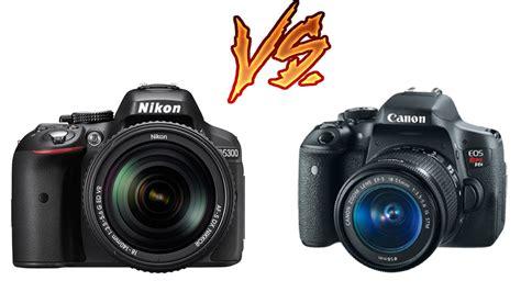 Nikon P900 X Canon T6i by Canon T6i Vs Nikon D5300