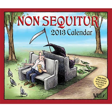 non sequitur 2018 day to day calendar non sequitur 2013 desk calendar calendars