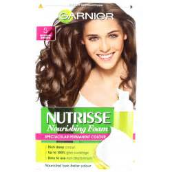 garnier foam hair color garnier nutrisse nourishing foam permanent hair colour 5