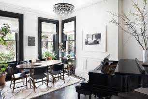 Black Trim Windows Decor Design Ideas Black Trim White Walls The Decorista