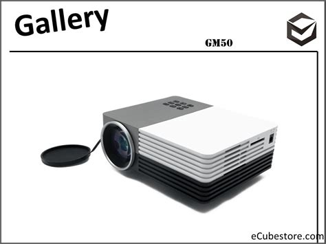 Proyektor Portable Mini Murah projector gm50 portable mini projector mini projector