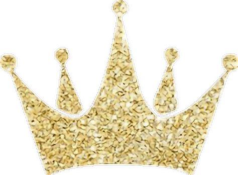 Crown Glitter by Gold Crown Glitter Freetoedit