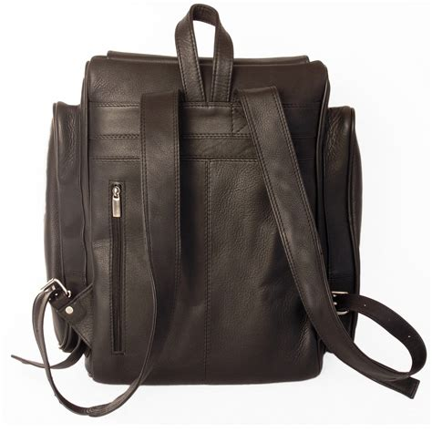 Longch Backpack Sz Large jahn tasche large leather backpack size xl laptop backpack up to 15 6 inches black