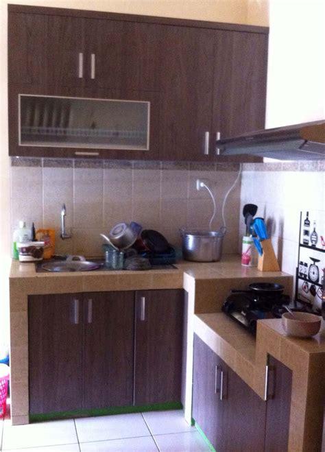 Lemari Dapur Dinding cara hias ruang dapur kayu desainrumahid