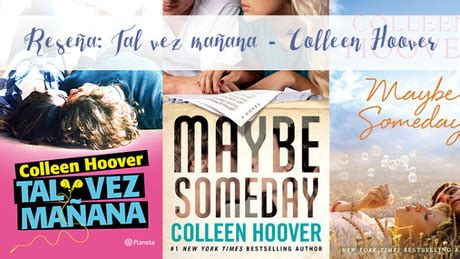 tal vez maana 8408150278 rese 241 a tal vez ma 241 ana colleen hoover paperblog