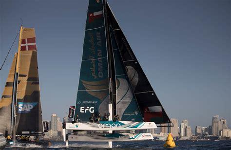 extreme catamaran sailing racing gc32 extreme sailing series san diego 2017 sap extreme