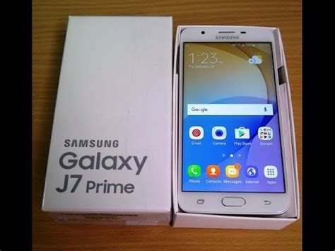 Samsung J7 Prime White Gold unboxing review samsung galaxy j7 prime white gold