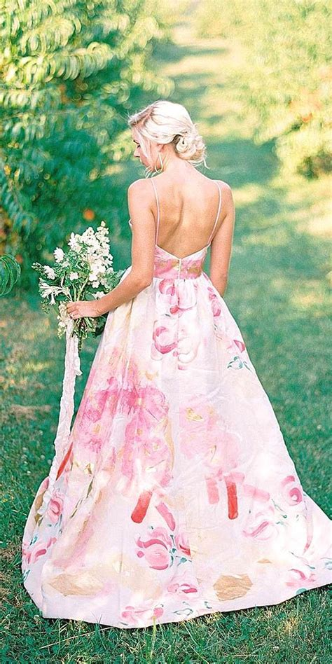 17 best ideas about floral wedding dresses on floral wedding gown vintage wedding