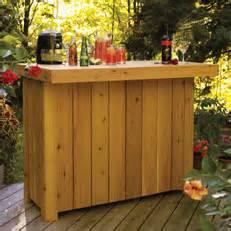 how to build a handy cedar bar