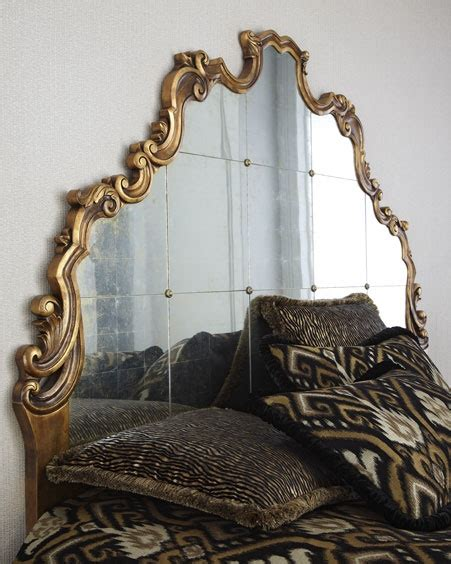 horchow headboards lovely mirrored headboard from horchow take me home