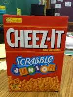 cheez it scrabble scrabble cheezit freebie classroom creativity