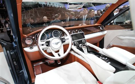 bentley exp 9 f interior we hear bentley exp 9f to contest dakar rally in 2013