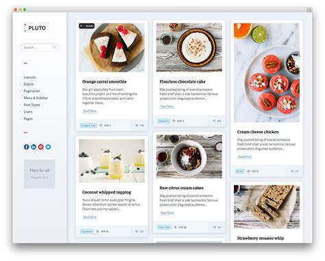 layout na blog 20 best pinterest style wordpress themes 2017 colorlib