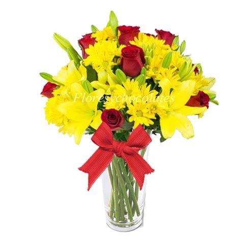 floreros santiago florero de maules lilums y rosas flores y chocolates