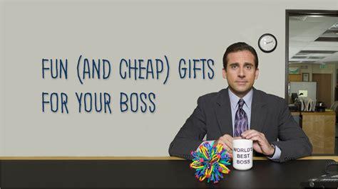 fun  cheap gifts   boss