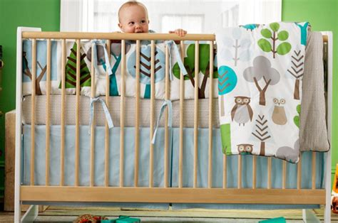 Planning The Nursery Getting Ready For The Baby At Dwell Studio Owl Crib Bedding