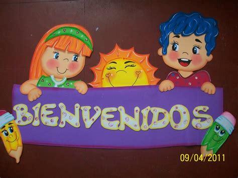 letreros de aulas en colegio mi escuela divertida carteles de bienvenidos para el aula